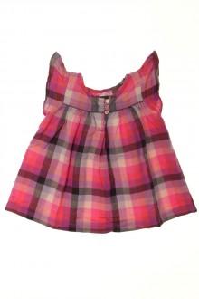 vêtements bébés Blouse à carreaux Bout'Chou 18 mois Bout'Chou