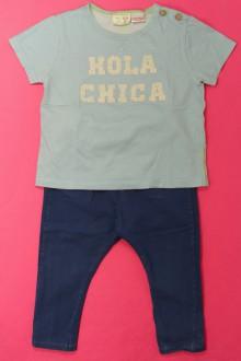 vêtements bébés Ensemble tee-shirt et legging Zara 18 mois Zara