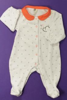 vêtements bébés Pyjama/Dors-bien en velours étoilé Orchestra 3 mois Orchestra