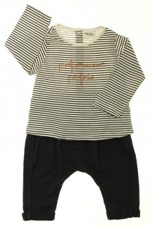 habits bébé Ensemble sarouhel et tee-shirt Tape à l'œil 9 mois Tape à l'œil