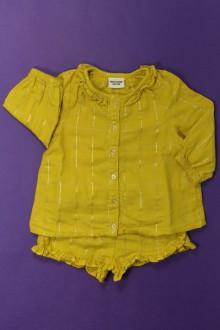 vêtements bébés Ensemble chemisier et short Tape à l'Œil 9 mois Tape à l'œil