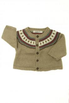 vêtements bébés Gilet jacquard Bout'Chou 1 mois Bout'Chou