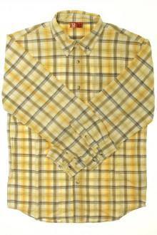 vetements enfant occasion Chemise à carreaux DPAM 12 ans DPAM