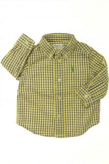 habits bébé occasion Chemise à petits carreaux Ralph Lauren 9 mois Ralph Lauren