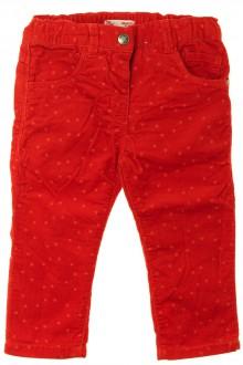 Habit d'occasion pour bébé Pantalon en velours fin étoilé DPAM 18 mois DPAM