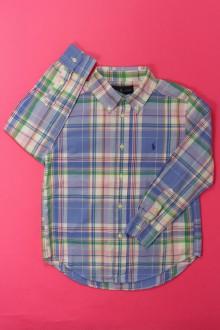 vetement marque occasion Chemise à carreaux Ralph Lauren 5 ans Ralph Lauren