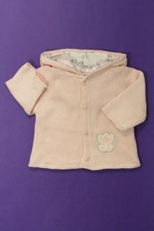 habits bébé Gilet/veste à capuche Vertbaudet 1 mois Vertbaudet