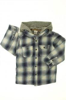 vetements d occasion enfant Chemise à carreaux à capuche H&M 2 ans H&M