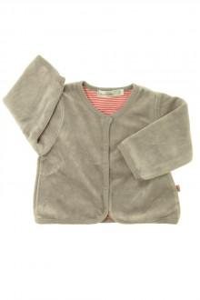habits bébé occasion Gilet en velours Bout'Chou 1 mois Bout'Chou