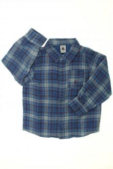 vêtement enfant occasion Chemise à carreaux Petit Bateau 4 ans Petit Bateau