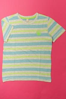 vetement occasion enfants Tee-shirt rayé manches courtes Esprit 9 ans Esprit