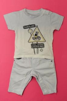 Habits pour bébé occasion Ensemble pantalon et tee-shirt Timberland 3 mois Timberland
