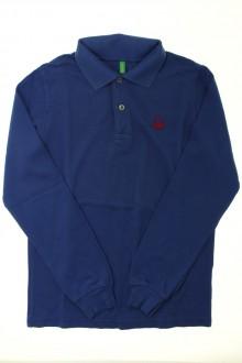 vêtements occasion enfants Polo manches longues - 11 ans Benetton 10 ans Benetton