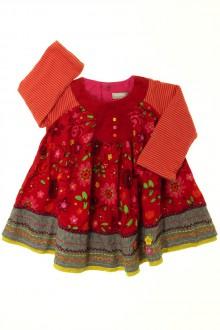 vêtements bébés Robe en velours fin Catimini 3 mois Catimini