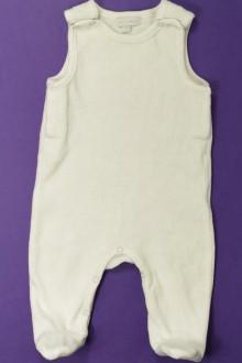 Habit d'occasion pour bébé Pyjama/Dors-bien sans manches DPAM 1 mois DPAM