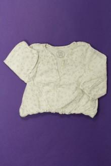habits bébé Blouse doublée étoilée Tape à l'œil 3 mois Tape à l'œil