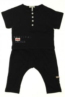 Habit de bébé d'occasion Ensemble legging et tee-shirt IKKS 9 mois IKKS