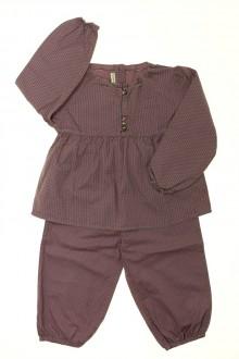 vêtements enfants occasion Pyjama à pois en coton DPAM 2 ans DPAM