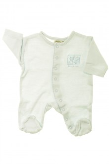 fdbeb7eefe2a0 habits bébé Pyjama Dors-bien en coton milleraies Grain de Blé Naissance  Grain de