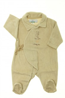 Habit d'occasion pour bébé Pyjama/Dors-bien en velours