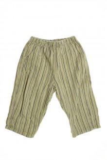 habits bébé Pantalon doublé en velours fin Confetti 12 mois Confetti