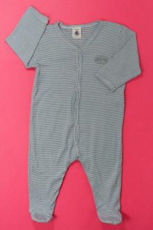 vêtements bébés Pyjama/Dors-bien milleraies en coton  Petit Bateau 6 mois Petit Bateau