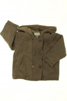 vêtements bébés Gilet doublé Cyrillus 6 mois Cyrillus