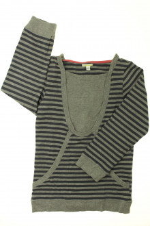 vêtements d occasion enfants Tee-shirt long rayé à manches longues Vertbaudet 10 ans Vertbaudet