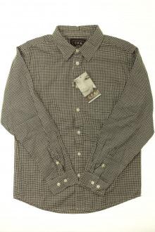 vetement enfants occasion Chemise à petits carreaux - NEUF CFK 10 ans CFK
