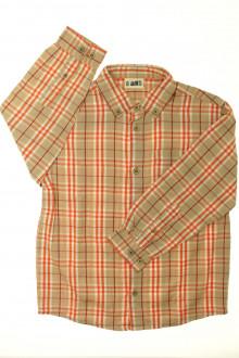 vetement occasion enfants Chemise à carreaux DPAM 8 ans DPAM