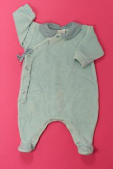 vêtements bébés Pyjama/Dors-bien en velours Petit Bateau 1 mois Petit Bateau