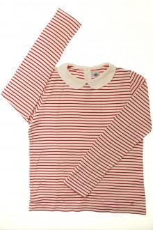 vetements d occasion enfant Tee-shirt rayé manches longues Petit Bateau 12 ans Petit Bateau