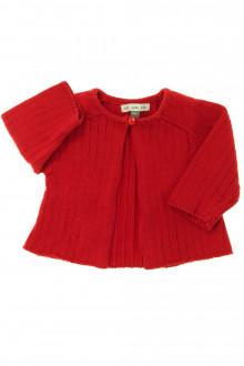 vêtements bébés Gilet 1 bouton DPAM 1 mois DPAM