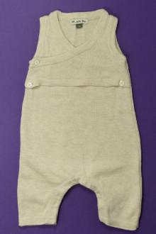 vetement bébé d occasion Salopette en maille DPAM 1 mois DPAM