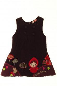 Habits pour bébé occasion Robe en laine bouillie DPAM 3 mois DPAM