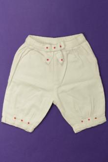 habits bébé Pantalon brodé DPAM 1 mois DPAM