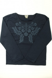 vêtements d occasion enfants Sweat brodé Cyrillus 12 ans Cyrillus