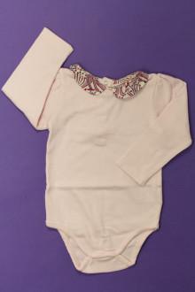 Habits pour bébé occasion Body polo manches longues Jacadi 12 mois Jacadi