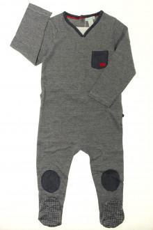 vetement occasion enfants Pyjama/Dors-bien en coton milleraies Obaïbi 2 ans Obaïbi