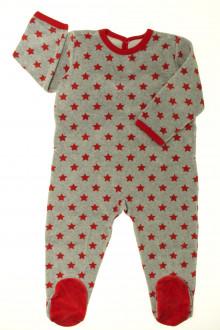 vetement occasion enfants Pyjama/Dors-bien en velours étoilé Petit Bateau 2 ans Petit Bateau