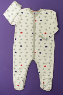 vetement d'occasion enfants Pyjama/Dors-bien en velours étoilé Petit Bateau 2 ans Petit Bateau