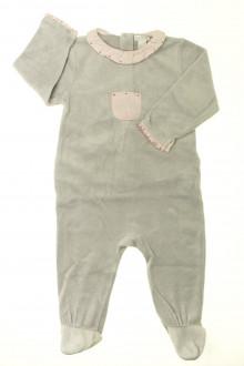 Habit d'occasion pour bébé Pyjama/Dors-bien en velours Obaïbi 12 mois Obaïbi