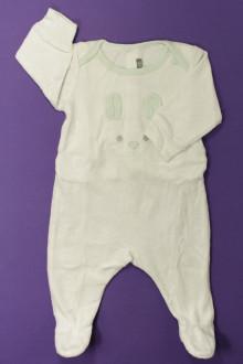Habits pour bébé Pyjama/Dors-bien en velours