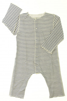 Habits pour bébé Combinaison rayée Petit Bateau 6 mois Petit Bateau