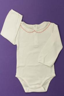 Habits pour bébé Body à col manches longues Jacadi 12 mois Jacadi