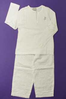 vêtements occasion enfants Pyjama étoilé en coton Cyrillus 4 ans Cyrillus