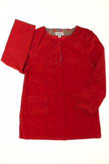 vêtements enfants occasion Robe en velours fin C de C 4 ans C de C