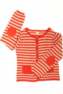 vêtements enfants occasion Gilet rayé Vertbaudet 8 ans Vertbaudet