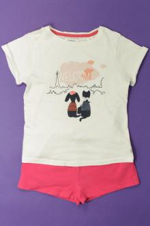 vêtements occasion enfants Ensemble short et tee-shirt Okaïdi 4 ans Okaïdi