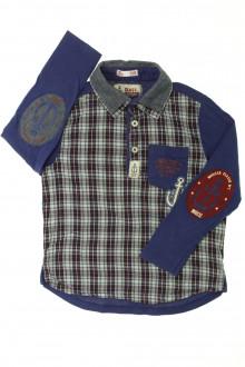 vêtements occasion enfants Chemise bi-matière DPAM 4 ans DPAM